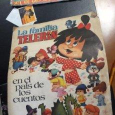Coleccionismo Álbumes: LA FAMILIA TELERIN EN EL PAIS DE LOS CUENTOS ALBUM CON 119 CROMOS SE VENDEN SUELTOS. Lote 51813965