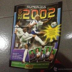 Coleccionismo Álbumes: ALBUM SUPERLIGA 2001-2002 DE PANINI (INCOMPLETO 19/409). Lote 51896000