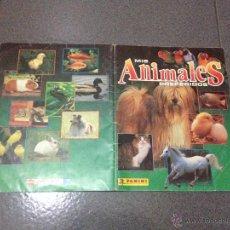 Coleccionismo Álbumes: ALBUM MIS ANIMALES PREFERIDOS DE PANINI (INCOMPLETO 157/180) EN BUEN ESTADO. Lote 51896112