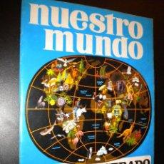 Coleccionismo Álbumes: NUESTRO MUNDO ATLAS ILUSTRADO / BIMBO. Lote 51934809