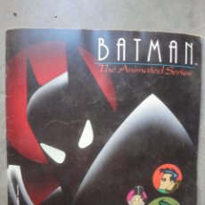 Collectable Incomplete Albums - ALBUM COMPLETO PANINI BATMAN 1993 THE ANIMATED SERIES FALTAN 13 CROMOS - 52636831