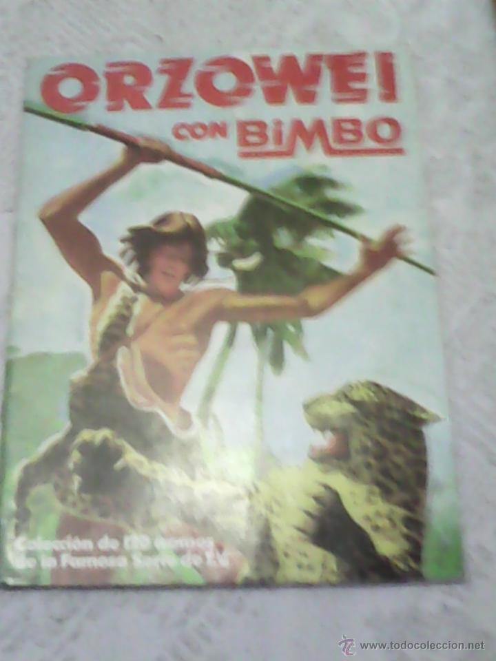 BIMBO - ALBUM ORZOWEI CON 27 CROMOS (Coleccionismo - Cromos y Álbumes - Álbumes Incompletos)