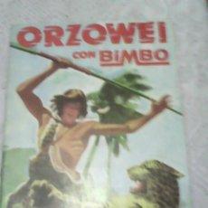 Coleccionismo Álbumes: BIMBO - ALBUM ORZOWEI CON 27 CROMOS. Lote 52638941