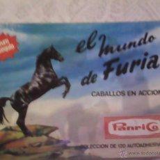 Coleccionismo Álbumes: PANRICO - ALBUM FURIA CON 71/120 CROMOS. Lote 52639691
