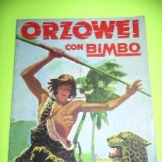 Coleccionismo Álbumes: ÁLBUM DE CROMOS ORZOWEI, ED. BIMBO, VACÍO, AÑO 1978. ERCOM. Lote 52730903