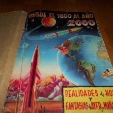 Coleccionismo Álbumes: ALBUM DE CROMOS NO COMPLETO DESDE EL 1800 AL AÑO 2000 MUY RARO. Lote 52809410