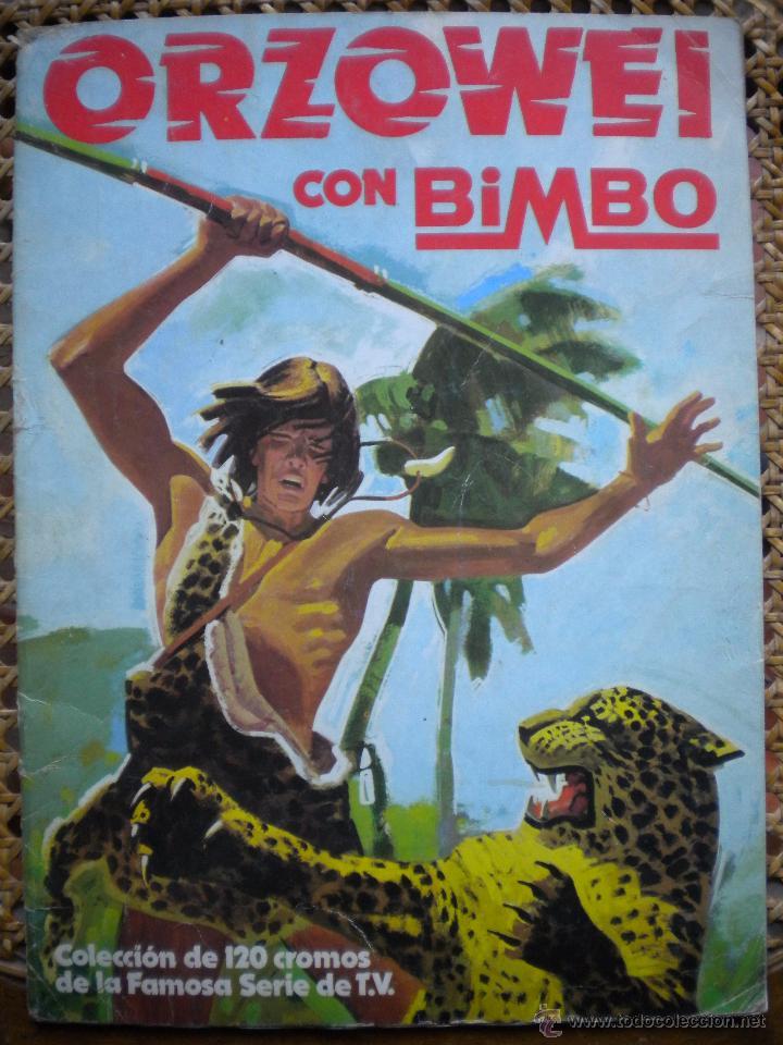ALBUM ORZOWEI, TIENE 69 DE 120 CROMOS (Coleccionismo - Cromos y Álbumes - Álbumes Incompletos)
