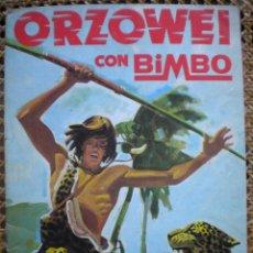 Coleccionismo Álbumes: ALBUM ORZOWEI, TIENE 69 DE 120 CROMOS. Lote 53419446