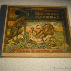Coleccionismo Álbumes: ALBUM HISTORIA NATURAL . COLECCION DEL CHOCOLATE JUNCOSA . TIENE 182 CROMOS. Lote 52891805