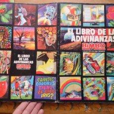 Coleccionismo Álbumes: ALBUM NESTLE ADIVINANZAS CON 136 CROMOS PEGADOS SOLO POR EL FILO POR SI QUIERE RECUPERARLOS. Lote 52959243