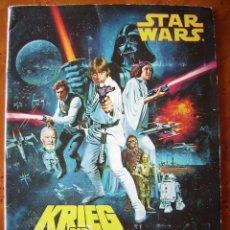 Coleccionismo Álbumes: STAR WARS (LA GUERRA DE LAS GALAXIAS). ÁLBUM ALEMÁN INCOMPLETO (FALTAN 2 CROMOS).. Lote 53096763