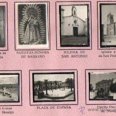 Coleccionismo Álbumes: HOJA DE ALBUM DE MONTIJO-BADAJOZ. Lote 53127633