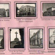 Coleccionismo Álbumes: HOJA DE ALBUM DE MONTIJO-BADAJOZ. Lote 53127642