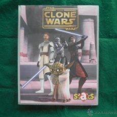 Coleccionismo Álbumes: ALBUM STAKS STAR WARS THE CLONE WARS . Lote 53193826