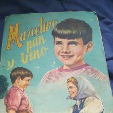 Coleccionismo Álbumes: ANTIGUO ALBUM DE CRMOS, MARCELINO PAN Y VINO, CON 229 CROMOS (DE 240). Lote 53265916