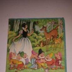 Coleccionismo Álbumes: BLANCA NIEVES Y LOS SIETE ENANOS. Lote 53286366