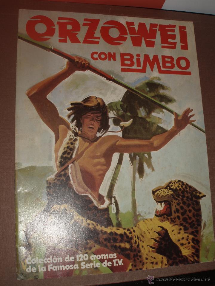 ALBUM VACIO ORZOWEI BIMBO (Coleccionismo - Cromos y Álbumes - Álbumes Incompletos)
