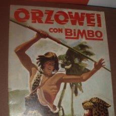Coleccionismo Álbumes: ALBUM VACIO ORZOWEI BIMBO. Lote 53314281