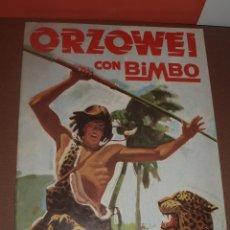 Coleccionismo Álbumes: ALBUM VACIO ORZOWEI BIMBO. Lote 53314325