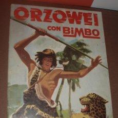Coleccionismo Álbumes: ALBUM VACIO ORZOWEI BIMBO. Lote 53314450