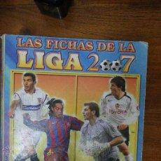 Coleccionismo Álbumes: ALBUM LIGA 2007 CON 540 CROMOS. Lote 53466613