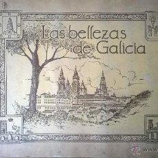 Coleccionismo Álbumes: ALBUM LAS BELLEZAS DE GALICIA (JUAN CAÑELLAS 1933) - CON 492 CROMOS (FALTAN 36). Lote 53487474