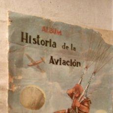 Coleccionismo Álbumes: ANTIGUO ALBUM CROMOS HISTORIA DE LA AVIACIÓN, ED. COSTA, GIGARPE, AÑO 1966. Lote 53495997