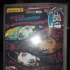 Coleccionismo Álbumes: ALBUM MONSTER HIGH PHOTOCARDS PHOTOPRINTS.PANINI 2013.. Lote 53505663