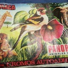 Coleccionismo Álbumes: ALBUM MAGA. PANORAMA, AMIMALES Y PLANTES, CON 180 CROMOS. Lote 53559041