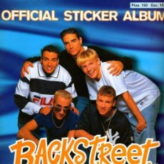 Coleccionismo Álbumes: ALBUM DE CROMOS BACKSTREET BOYS . Lote 53578119