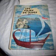 Coleccionismo Álbumes: ALBUM DE CROMOS NESTLE. LOS VIAJES DE ULISES INCOMPLETO LE FALTAN 10 DE 105 PARA COMPLETAR,FALTAS. Lote 53695224