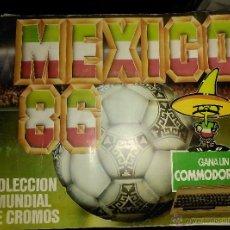 Coleccionismo Álbumes: ALBUM CROMOS MEXICO 86 ED. BARNA. Lote 53711359