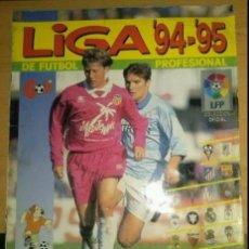 Coleccionismo Álbumes: ÁLBUM COMPLETO LIGA 94-95, DE EDICIONES PANINI. Lote 53816706
