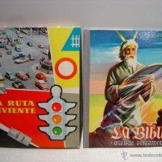 Coleccionismo Álbumes: LA BIBLIA - LA RUTA VIVIENTE - LOTE DOS ALBUMES. Lote 53817532