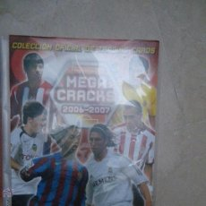 Coleccionismo Álbumes: ALBUM MEGA CRACKS 2006 - 2007, CON 300 CROMOS - CARTAS. Lote 53842751