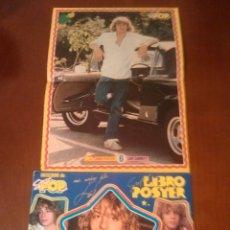 Coleccionismo Álbumes: ÁLBUM LEIF GARRETT SUPER POP-SUPER LIBRO POSTER ESTA VACIO. Lote 53867797