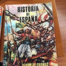 Coleccionismo Álbumes: HISTORIA DE ESPAÑA PETRONIO ALBUM CON 173 CROMOS SE VENDEN SUELTOS. Lote 53898670