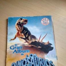Coleccionismo Álbumes: EL GRAN ALBUM DE LOS DINOSAURIOS DE MV EDITORES. Lote 54156499