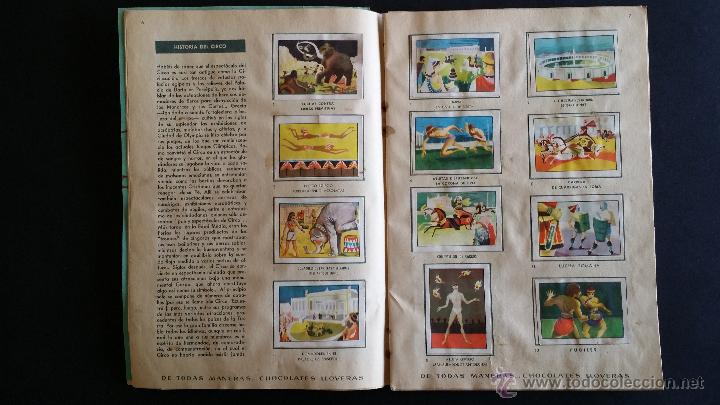 Coleccionismo Álbumes: Álbum El circo y su alegría. - Foto 4 - 54370200