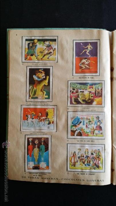 Coleccionismo Álbumes: Álbum El circo y su alegría. - Foto 5 - 54370200