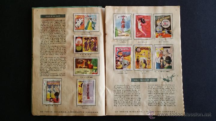 Coleccionismo Álbumes: Álbum El circo y su alegría. - Foto 6 - 54370200