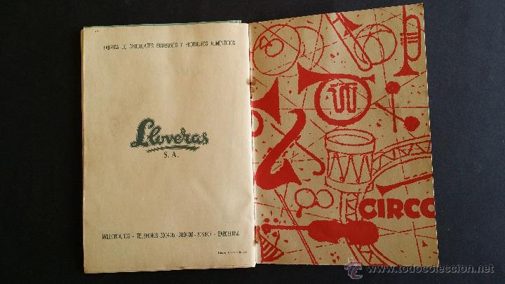 Coleccionismo Álbumes: Álbum El circo y su alegría. - Foto 9 - 54370200