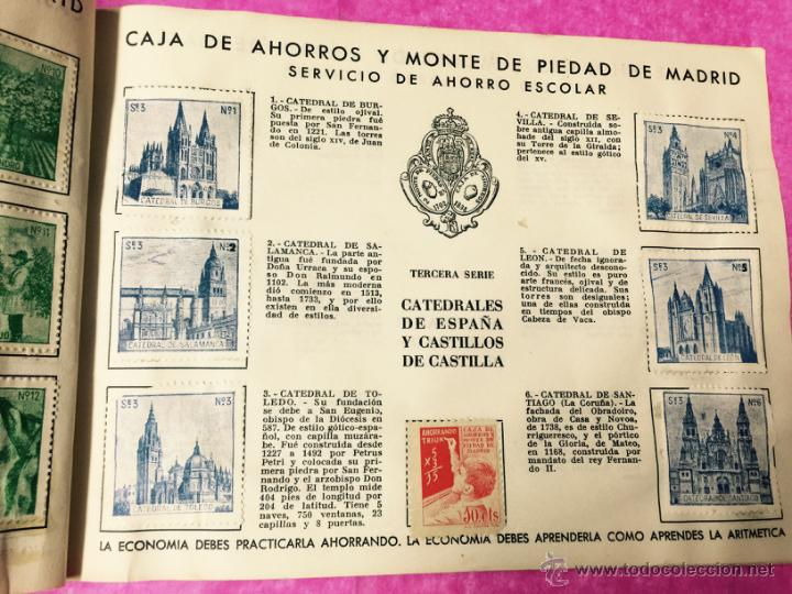 Coleccionismo Álbumes: Raro álbum libreta de ahorro infantil - Caja de Ahorros y monte de piedad de Madrid - Año 1950 - Foto 4 - 54430715