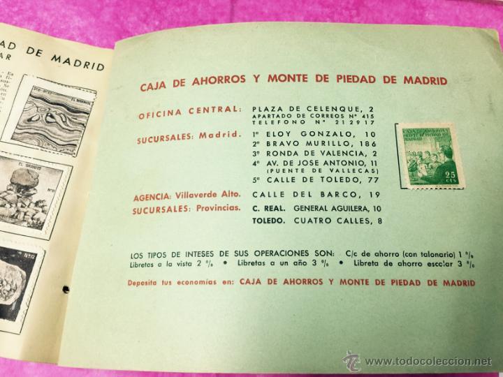 Coleccionismo Álbumes: Raro álbum libreta de ahorro infantil - Caja de Ahorros y monte de piedad de Madrid - Año 1950 - Foto 6 - 54430715