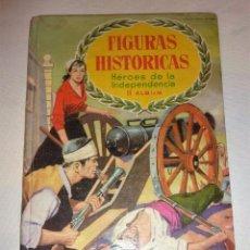 Coleccionismo Álbumes: ALBUM CROMOS FIGURAS HISTORICAS CHOCOLATES OLLE HEROES INDEPENDENCIA II 4 CROMOS SOBRE DE PEDIDOS. Lote 54473987