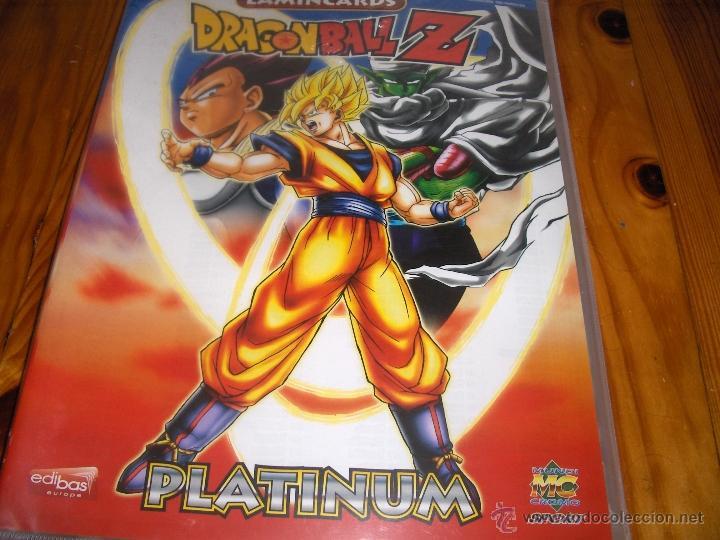Coleccionismo Álbumes: album archivador dragon ball z lamincards platinum - precintado - Foto 2 - 54526206