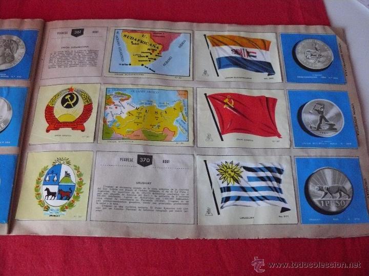 Coleccionismo Álbumes: ALBUM COLECCION UNIVERSAL -BANDERAS- ESCUDOS- MONEDAS - MAPAS.INCOMPLETO - Foto 5 - 54563174