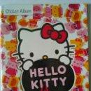 Coleccionismo Álbumes: LOTE DE ALBUM HELLO KITTY IS PANINI VACÍO + 143 CROMOS SIN PEGAR. Lote 54606292
