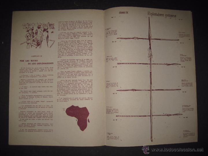 Coleccionismo Álbumes: A TRAVES DEL AFRICA - CHOCOLATES BATANGA ALBUM Nº 1 - ALBUM VACIO - VER FOTOS - ( V- 4513) - Foto 7 - 54633558