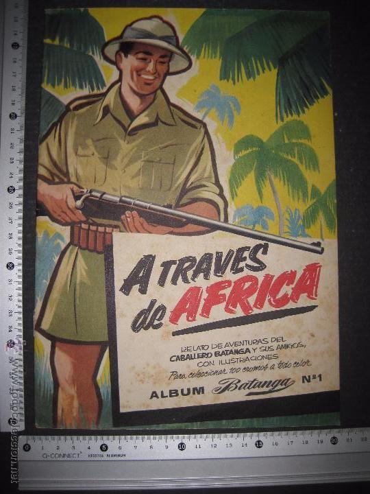 Coleccionismo Álbumes: A TRAVES DEL AFRICA - CHOCOLATES BATANGA ALBUM Nº 1 - ALBUM VACIO - VER FOTOS - ( V- 4513) - Foto 9 - 54633558